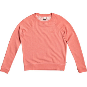Roxy Stay Together Sweatshirt Women, deep sea coral heather